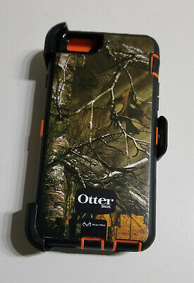 OtterBox Defender Hard Case for iPhone 6 iPhone 6s w/ Clip RealTree Extra Camo