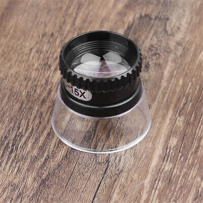 15X Mini Monocular Magnifying Glass Loupe Lens Map Magnifier Jewelry Repair Tool
