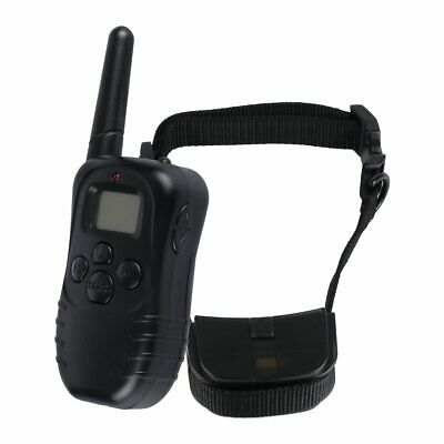 100 LV 300 Meter Remote LCD Pet Dog Training Electric Shock Vibration Collar CH