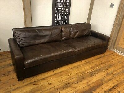 Excellent Restoration Hardware Maxwell Leather Sofa 8 Petite Evergreenethics Interior Chair Design Evergreenethicsorg