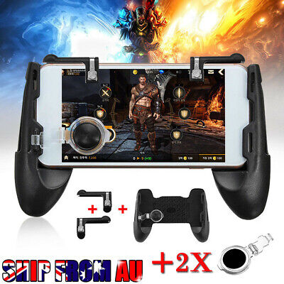 For PUBG Controller Mobile Game Shooter Trigger Fire Button + Game Pad AU