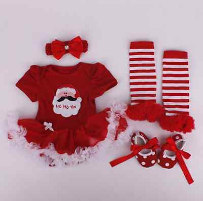 """For 20-22"""" Reborn Baby Girl Doll Clothes Clothing Dress Newborn Set Kids Gifts"""