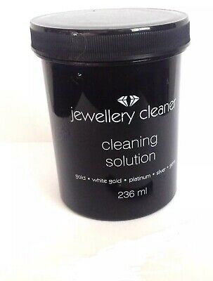 WOW SALE  Jewellery Cleaner Liquid Cleaning Solution Gold/Silver/Gems/Platinum