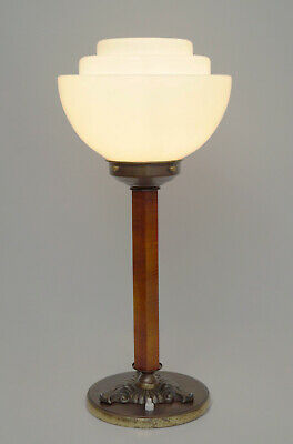 "Magnificent Original Type Deco Table Lamp "" Sonoma "" 1930 Bankers"