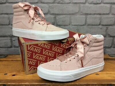 cc42a5b803 Vans Sk8-Hi Ladies Sepia Rose  True White Trainers Various Sizes With Laces