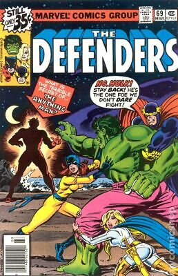 Defenders (1st Series) #69 1979 GD/VG 3.0 Stock Image Low Grade