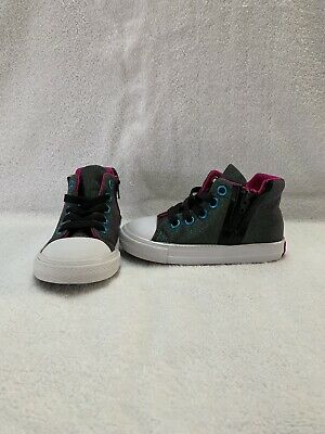 16aa35e4c394 Converse All Star Chuck Taylor Toddler Girls Iridescent Hightop Shoes~size  7 C