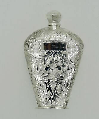 Victorian Antique Sterling Silver Mini Perfume/Scent Container