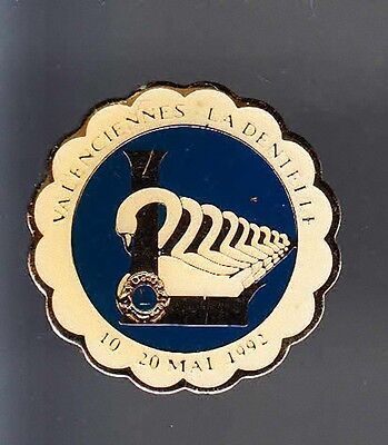 Rare Pins Pin's .. Ong Lions Club Art Dentelle Cygne Swan Valenciennes 59 ~13