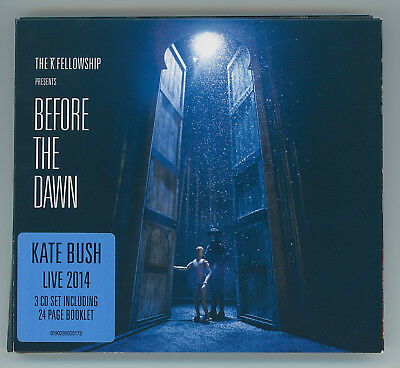 Kate Bush Before The Dawn 3 Cd Set