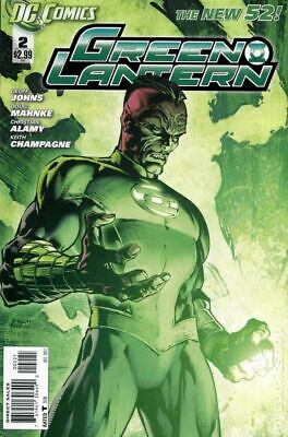 Green Lantern (4th Series) #2B 2011 Finch Variant VF Stock Image