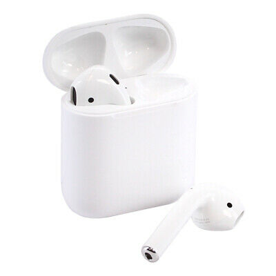 Apple AirPods In-Ear Wireless Bluetooth Headsets with Case MMEF2AM/A - Authentic
