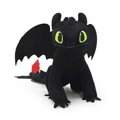 Official Licensed How to Train Your Dragon 3 TOOTHLESS Plush Doll Soft Toys 12""