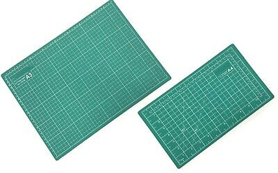 Cutting Mat A3 or A4 Size Self-Healing Coated Non-Slip Surface & Alignment Grid