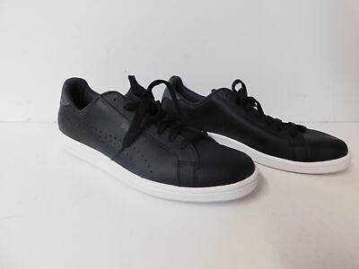 76fcacaf4ff1 PUMA MEN S SMASH Leather Classic Sneaker-Black-Size 9.5-NWT -  34.99 ...