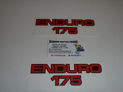 Dt175Mx Yamaha  Emblems For Side Covers