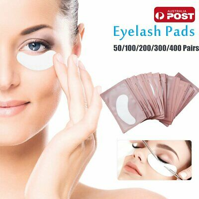 400 Pairs Under Eye Curve Eyelash Pads Gel Patch Lint Free Lash Extension Beauty