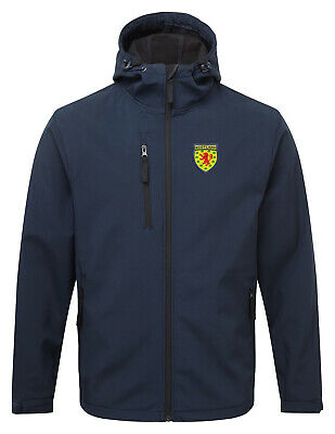 Scotland Retro Style Football Softshell Jacket