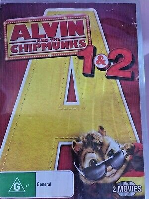 Alvin And The Chipmunks - The Squeakquel (DVD, 2010) PRE-OWNED
