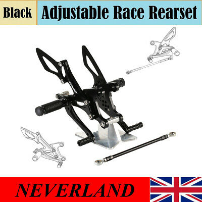 NEVERLAND Rearset Adjustable Footpeg Rear Set For Kawasaki Ninja ZX 6R 2005-2008
