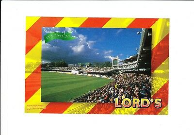 Lords Cricket Ground : large UK Sported sports card