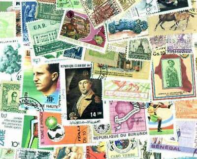 Worldwide Stamp Collection - 1,000 Different Stamps