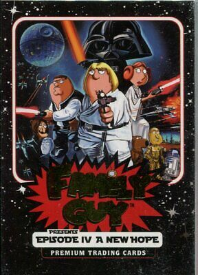 Family Guy Star Wars A New Hope Factory Sealed Hobby Packet Pack