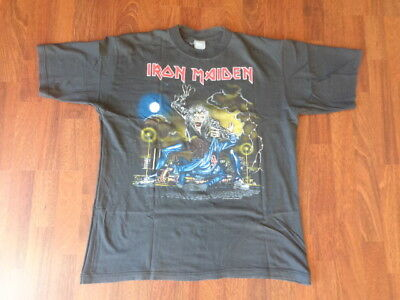 Iron Maiden : T-Shirt - No Prayer On The Road Tour 1990  /  Taille : L