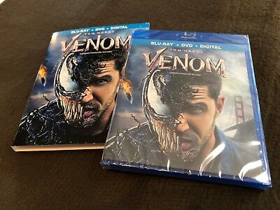 Venom Blu-Ray + DVD + Digital New Factory SEALED !