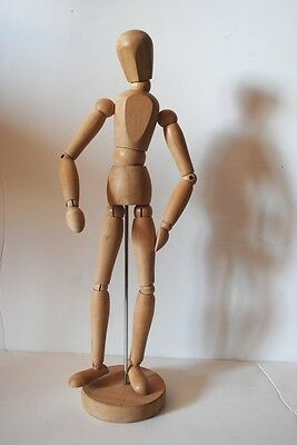 IKEA Poseable Artist Mannequin Wooden Drawing Figure Decorative Jewelry Display