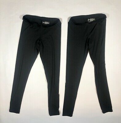 1ac92d2b25b21 Felina Velvety Soft Lightweight Legging 2 Pair New Without Tags Black Small  A30