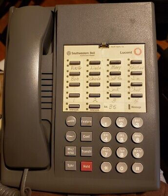 Grey Avaya Lucent AT&T Partner 18 Phone