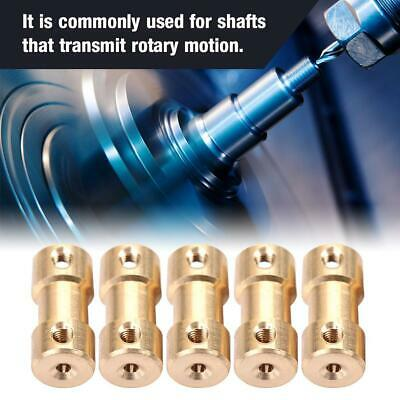 5pcs Motor Copper Shaft Coupling Coupler Connector Sleeve Transfer Joint Adapter