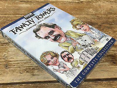 Fawlty Towers la Completa Set DVD 2001 3-disc Set Colección John Cleese Scales