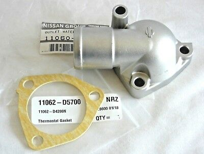 Datsun Pick Up 720 620 L20B 810 Genuine Thermostat Water Housing Cover & Gasket