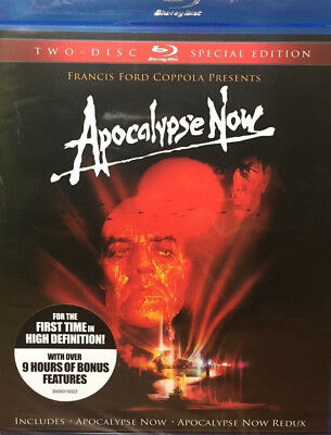NEW Apocalypse Now Blu ray 1979 2 Disc SET Special Edition Francis COPPOLA MOVIE