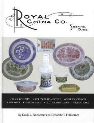 Royal China $ID Guide Willow Old Curiosity Currier Ives