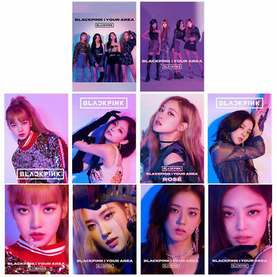 KPOP BLACKPINK Album Self Made Paper Lomo Card Photo Card Poster HD Photocard