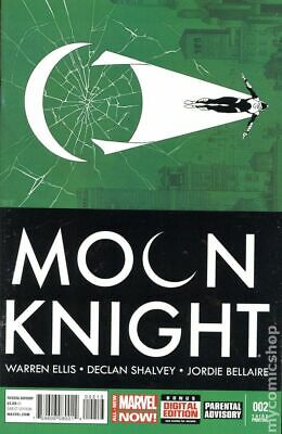 Moon Knight (5th Series) #2D 2014 Shalvey Variant 3rd Printing VF Stock Image