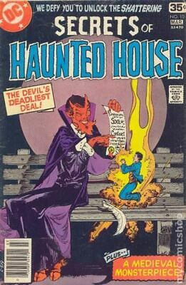 Secrets of Haunted House #10 1978 VG 4.0 Stock Image Low Grade