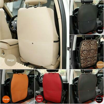 6Color Car Seat Back Cover Protector PU Seat Kick Mat Anti Stepped Dirty For Kid