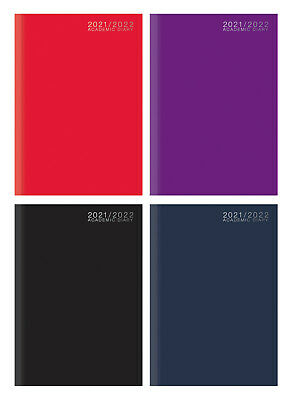 2019-2020 A5 Academic Week To View Case Bound Student Teacher Diary Planner 3195