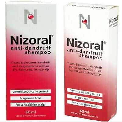 Nizoral Anti Dandruff Shampoo Hair Ketoconazole Dry Flaky Itchy Scalp Treatment