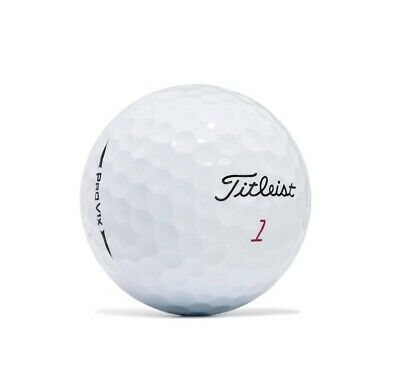 12 Titleist Pro V1X 2018 Near Mint Used Golf Balls AAAA
