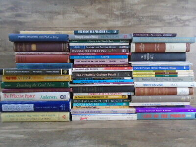 HUGE lot (58) Sermons PASTOR Minister Preaching Lessons by