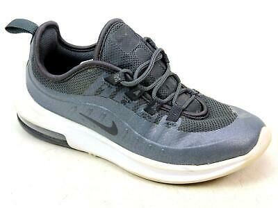 ec1dc863583 Kids Junior Nike Air Max Axis Se Black Mesh Breathable Sport Trainers Size  Uk 13
