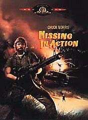 Missing in Action (DVD, 2000) RARE CHUCK NORRIS 1984 BRAND NEW