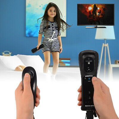 2 in 1 Motion Plus Remote and Nunchuk Controller Set for Nintendo Wii U AC618