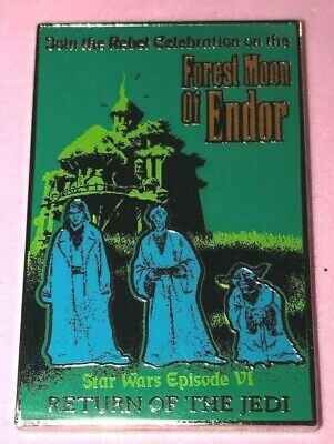 Disney Wdw 2016 Star Wars Poster Forest Moon Of Endor Return Of The Jedi Pin