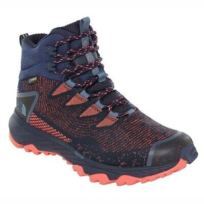 The North Face Ultra Fastpack III Mid GTX W Peacoat Navy/Fiesta Red NF0A3MKVC...